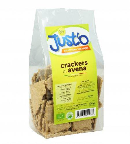Cracker di Avena Bio - Just'o