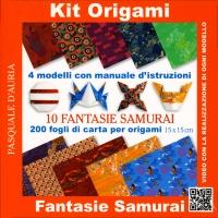 Kit Origami - Samurai