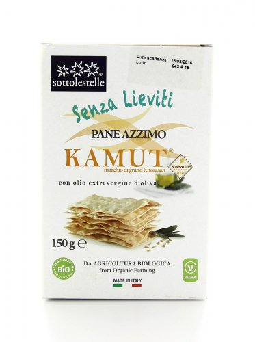 Pane Azzimo KAMUT® - grano khorasan con Olio Extravergine d'Oliva