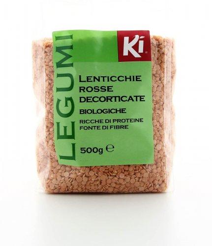 Lenticchie Rosse Decorticate Bio