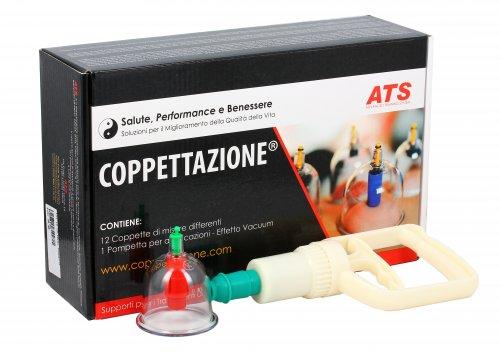 Kit 12 Coppette + Pompetta per Applicazione
