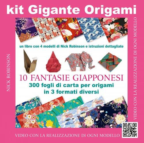 Kit Gigante Origami - Fantasie Giapponesi