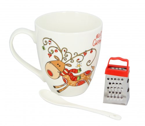 Kit Tazza Mug con Mini Grattugia
