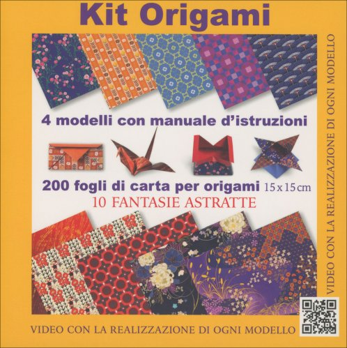 Kit Origami - 10 Fantasie Astratte