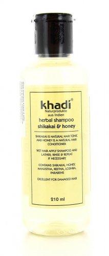 Shampoo Shikakai Honey - Shampoo a Base di Erbe Shikakai e Miele