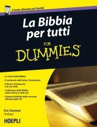 La Bibbia Per Tutti for Dummies (eBook)