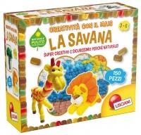 La Savana - Creatività con il Mais - 150 Pz. - 3/6 Anni
