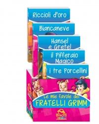Le Mie Favole dei Fratelli Grimm - Cofanetto 5 Libri