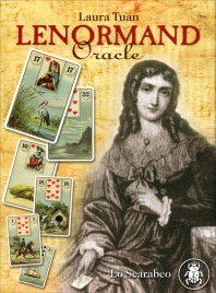 Lenormand Oracle - Cofanetto Libro in Inglese con 36 Carte