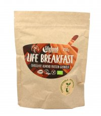 Granola Proteica con Cioccolato e Mandorle - Life Breakfast
