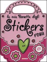 La mia Borsetta degli Stickers rosa