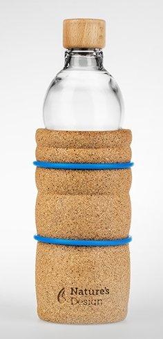 Bottiglia Lagoena in Vetro con Copertura in Sughero