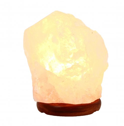 Lampada in Cristallo di Rocca  2/3 Kg. con Piedini