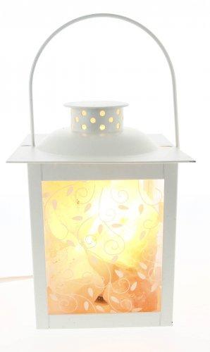 Lampada Lanterna ai Cristalli di Sale