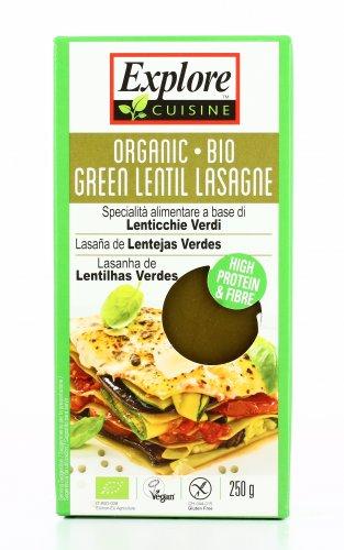 Lasagne a Base di Lenticchie Verdi