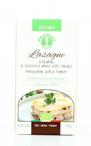 Lasagne Integrali di Semola di Grano Duro Italiano