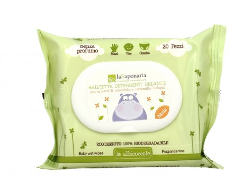 Le Albicoccole - Salviette Detergenti Delicate