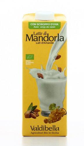 Latte di Mandorla con Sciroppo d'Uva Bio