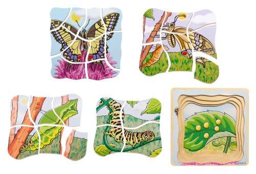 Layer Puzzle Farfalla 5 in 1