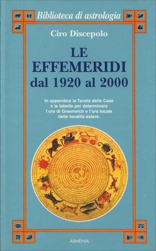 Le Effemeridi dal 1920 al 2000