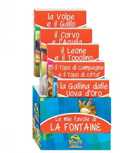 Le Mie Favole di La Fontaine - Cofanetto 5 Libri