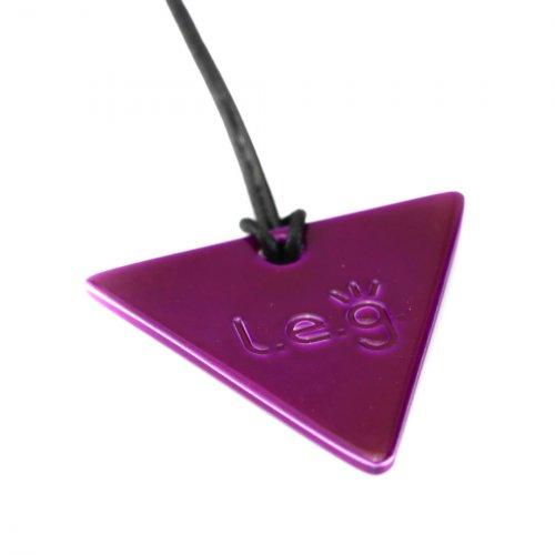 Leg - Tesla Purple Plate - Triangolo