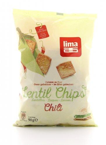 Lenticchie Chips Chili Bio
