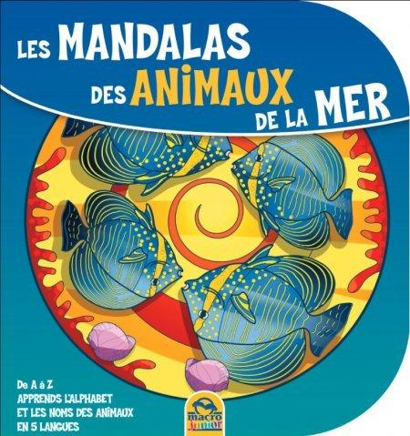 Les Mandalas des Animaux de la Mer