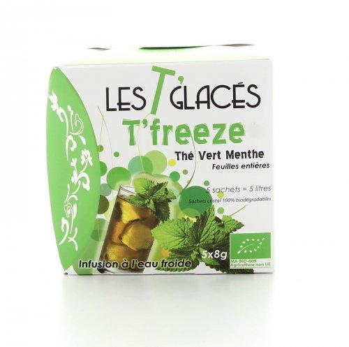 Tè Verde alla Menta Bio ad Infusione Fredda