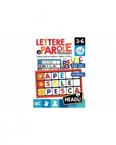 Lettere e Parole Montessori - 3/6 Anni