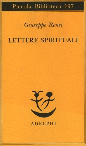 Lettere Spirituali
