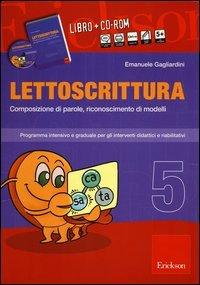 Lettoscrittura Vol. 5 (Cofanetto Libro + CD-ROM)