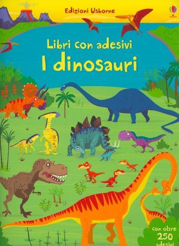 Libr con Adesivi - I Dinosauri