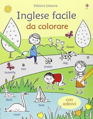 Libri con Adesivi - Inglese Facile