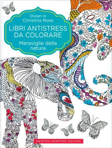 Libri Antistress da Colorare - Meraviglie della Natura