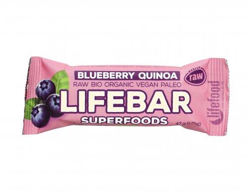 Barretta Superfood Plus Blueberry e Quinoa Lifebar