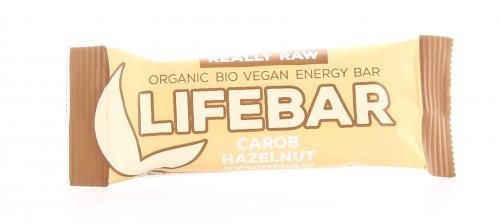 Barretta Superfood Plus Carruba e Nocciole Lifebar