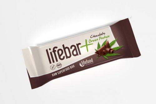 Lifebar Plus al Cioccolato e Proteine Verdi