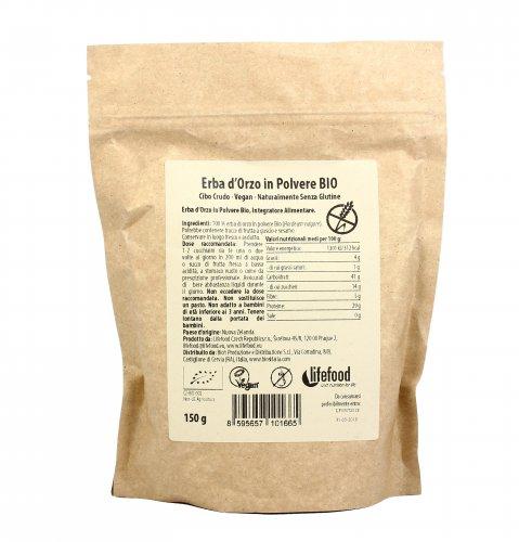 Organic Barley Grass - Juice Powder - Polvere di Succo d'Erba d'Orzo