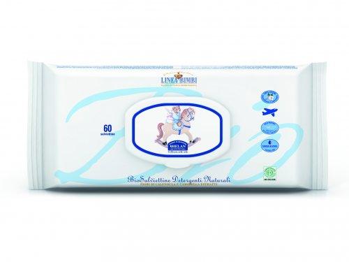 Linea Bimbi - Bio Salviettine Detergenti Naturali