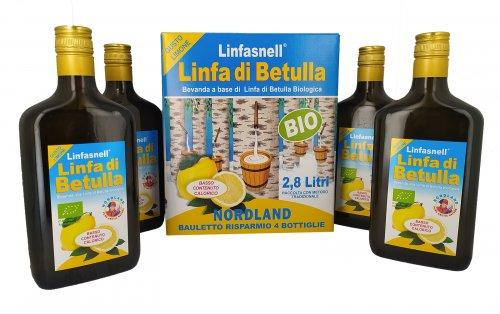 Linfasnell - Linfa di Betulla al Limone - Bauletto
