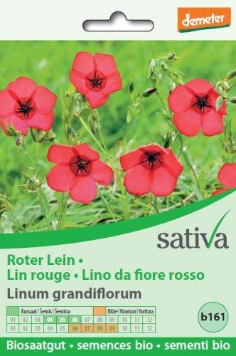 Lino da Fiore Rosso - b161