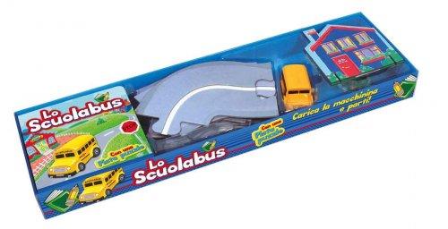 Lo Scuolabus con Una Pista Puzzle