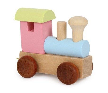 """Pezzo per Trenino """"Locomotiva colorata"""""""