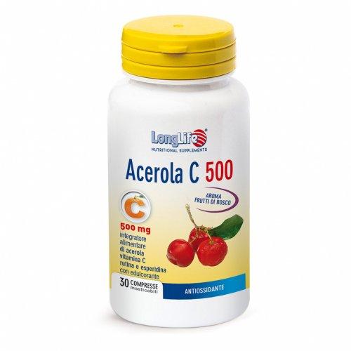 Acerola C 500 Masticabile - Antiossidante