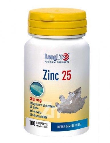 Zinc 25 - Long Life