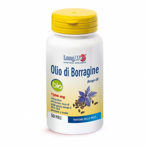 Olio di Borragine - Trofismo della Pelle