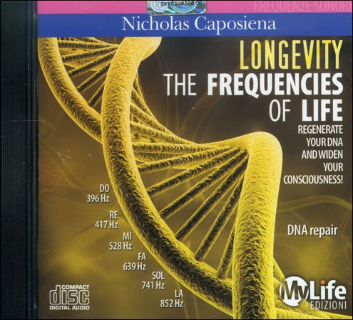 The Frequencies of Life - Longevity CD