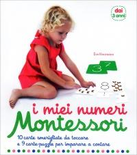 I MIEI NUMERI - MONTESSORI 10 carte smerigliate da toccare e 9 carte-puzzle per imparare a contare di Ève Herrmann