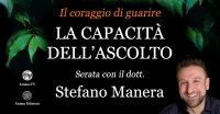 """Serata """"La capacità dell'ascolto"""" con Stefano Manera – Giovedì 29 aprile 2021"""